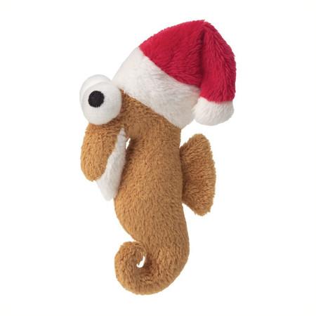 Holiday Seahorse Catnip Toy