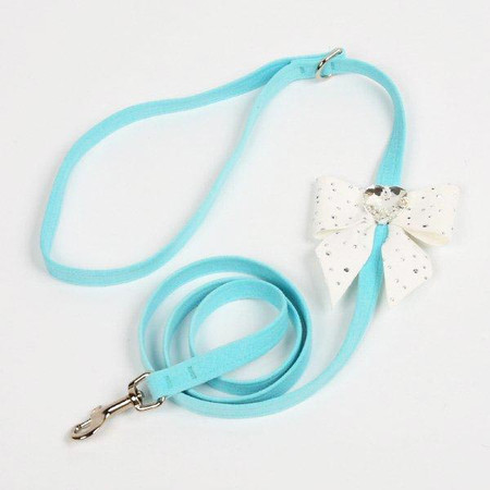 Susan Lanci Stardust Tail Bow Heart Leash