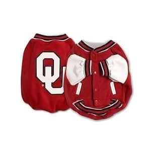 Oklahoma Sooners Dog Jacket