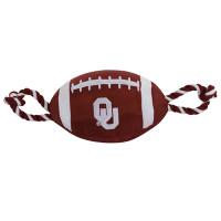 Oklahoma Sooners Football Dog Toy