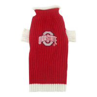 Ohio State Buckeyes Dog Sweater