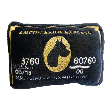 Americanine Express Bark Card Toy