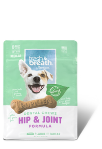 Tropiclean Fresh Breath Dental Chews - Hip & Joint Regular