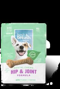 Tropiclean Fresh Breath Dental Chews - Hip & Joint Regular