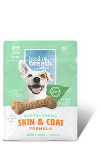 Tropiclean Fresh Breath Dental Chews - Skin & Coat Small