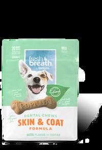 Tropiclean Fresh Breath Dental Chews - Skin & Coat Small