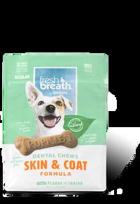 Tropiclean Fresh Breath Dental Chews - Skin & Coat Regular