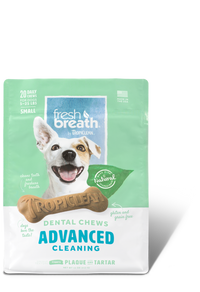 Tropiclean Fresh Breath Dental Chews - Advanced Cleaning Small