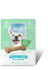 Tropiclean Fresh Breath Dental Chews - Advanced Cleaning Regular