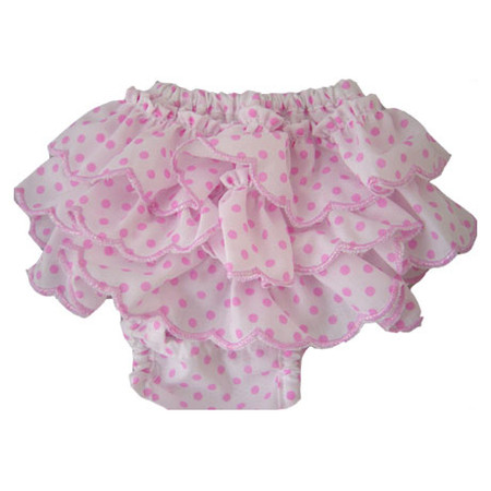 Polka Dot Frill Sanitary Pants