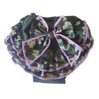 Camo Bow Sanitary Pants