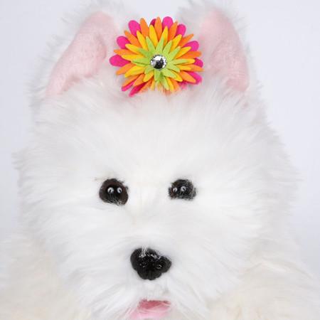 Susan Lanci Island Flower Hair Bow