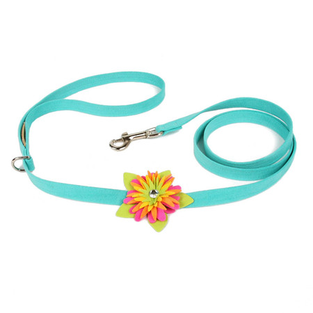 Susan Lanci Island Flower Leash