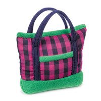 M. Isaac Mizrahi Modern Gingham Bag Toy