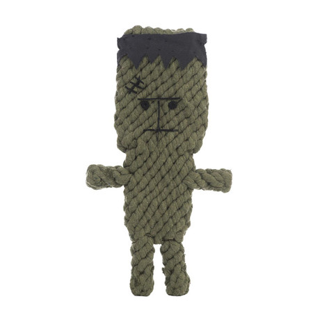 Frank the Frankenstein Rope Dog Toy