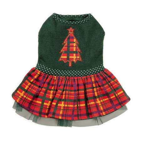 Holly Days Plaid Dress