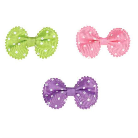 Grosgrain Dot Bow