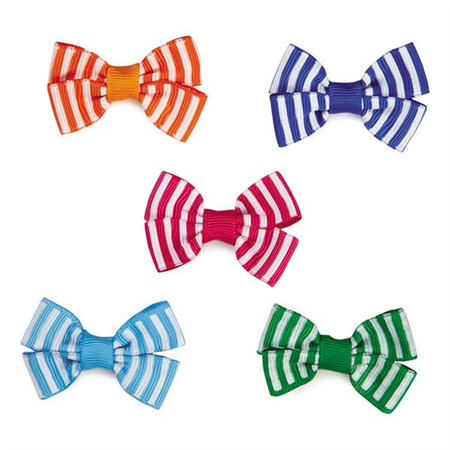 Candy Stripe Bow