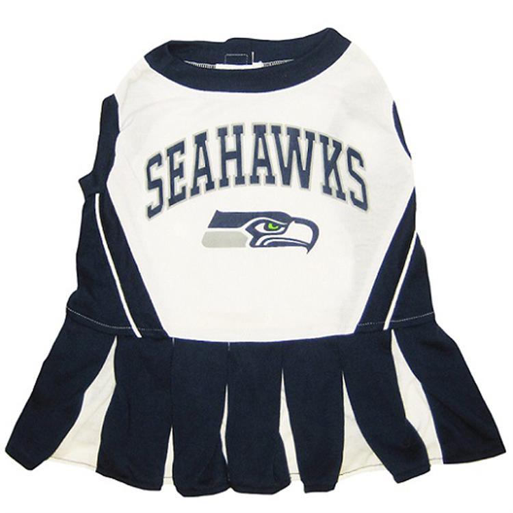 separation shoes 38323 f1324 Seattle Seahawks Cheerleader Dog Dress
