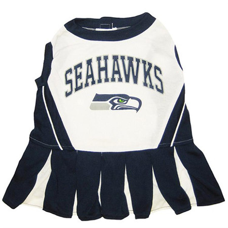 Seattle Seahawks Cheerleader Dog Dress