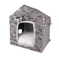 louisdog Peekaboo Camo Dog House