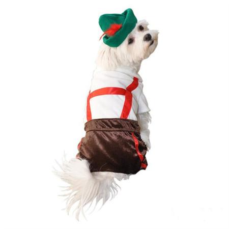 Lederhosen Dog Costume