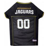 Jacksonville Jaguars Dog Jersey - Gold Trim