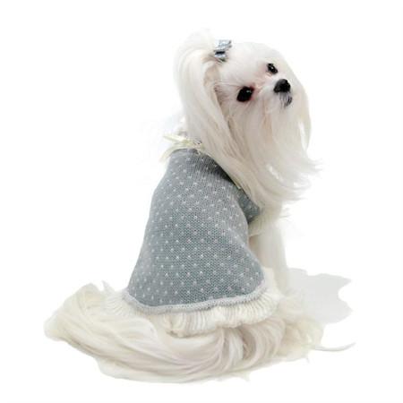 Oscar Newman Chantilly Pet Sweater