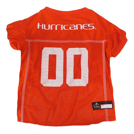 sports shoes c8365 7bf45 Miami Hurricanes Dog Jersey