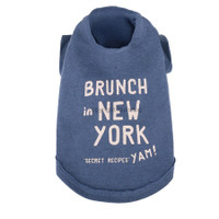 Louisdog Brunch in New York Tee (Part II)