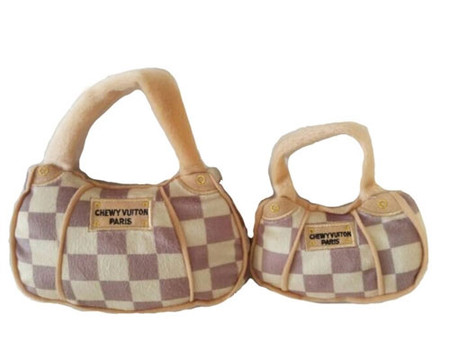 Chewy Vuitton Checker Bag