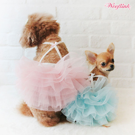 Wooflink Cotton Candy Tutu