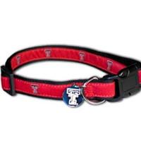 Texas Tech Premium Dog Collar