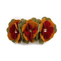 Susan Lanci Autumn Flowers Perfect Fit Collar
