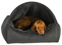 Bowsers Diamond Dream Fur Canopy Dog Bed