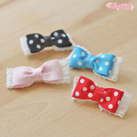 Wooflink Polka Dot Hair Bow