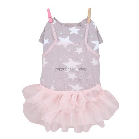 Louisdog Star Tulle Dress