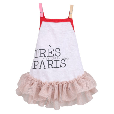 Tres Paris Linen Dress