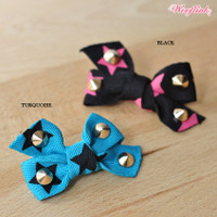 Wooflink Rocker Chick's Dog Hair Bow