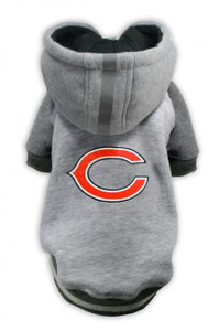 Chicago Bears Dog Hoodie