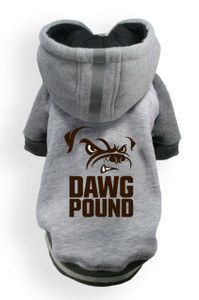 Cleveland Browns Dog Hoodie