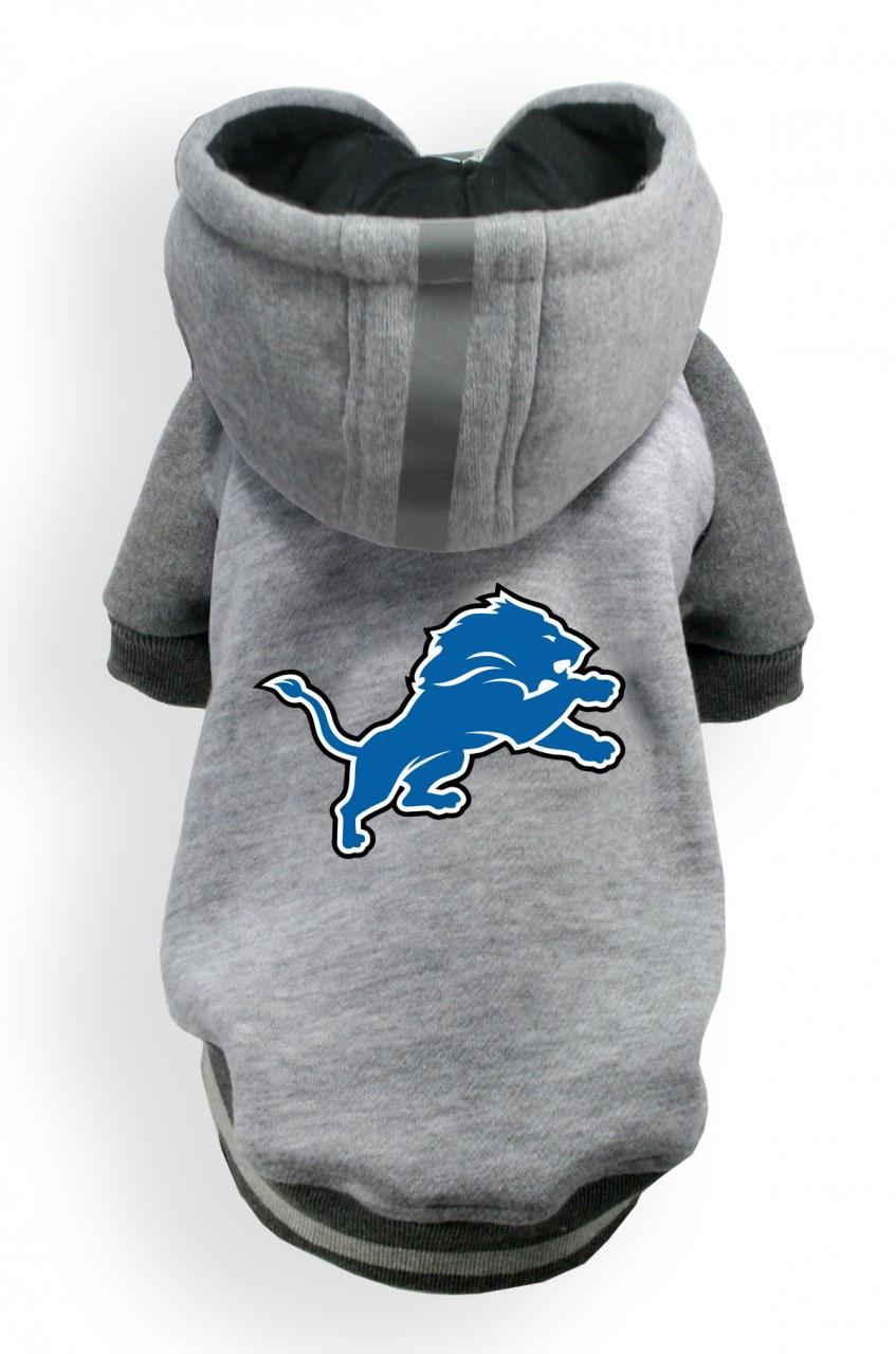 Detroit Lions Dog Hoodie 6d7765f01