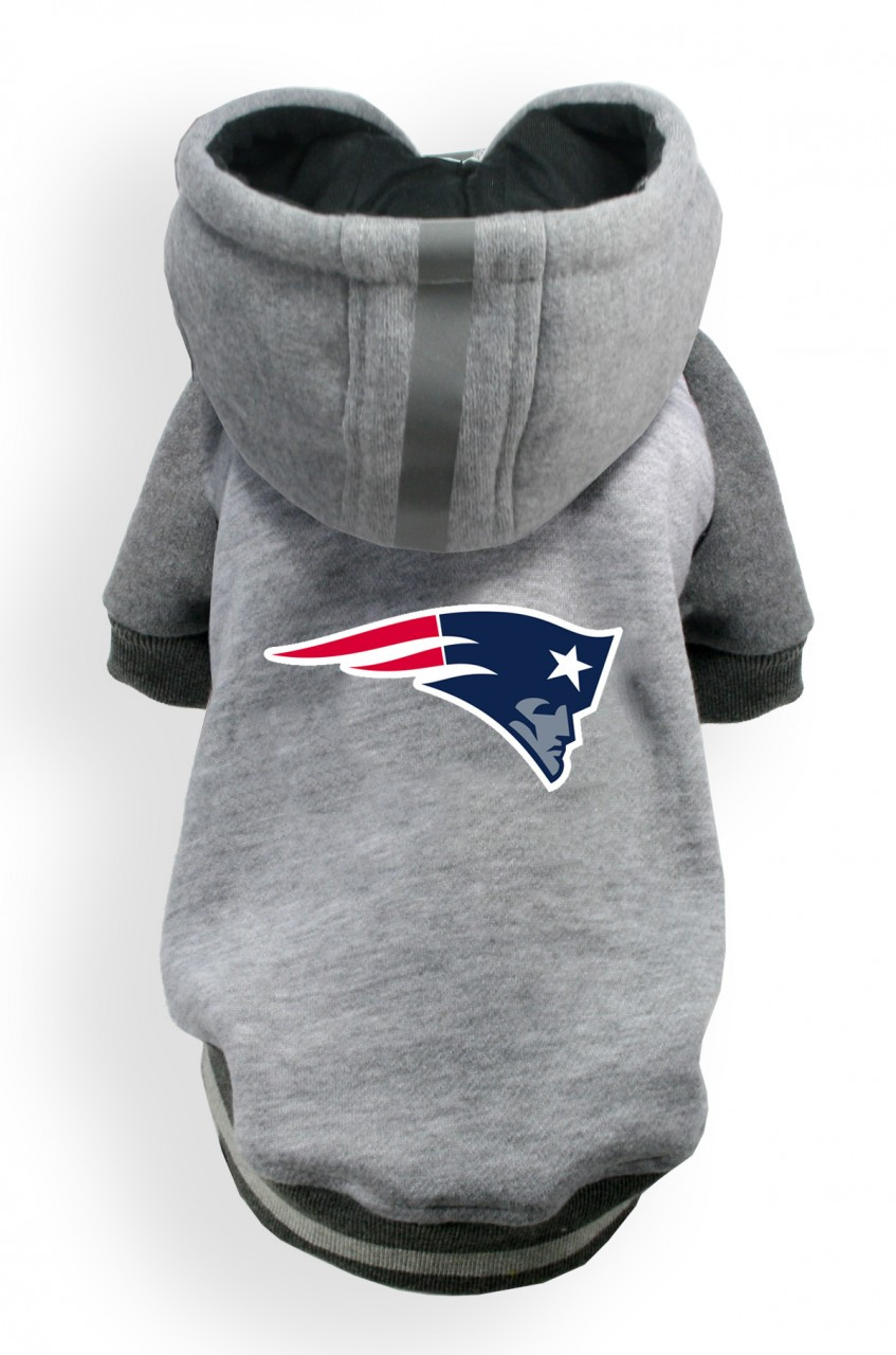 new england patriots gray sweatshirt