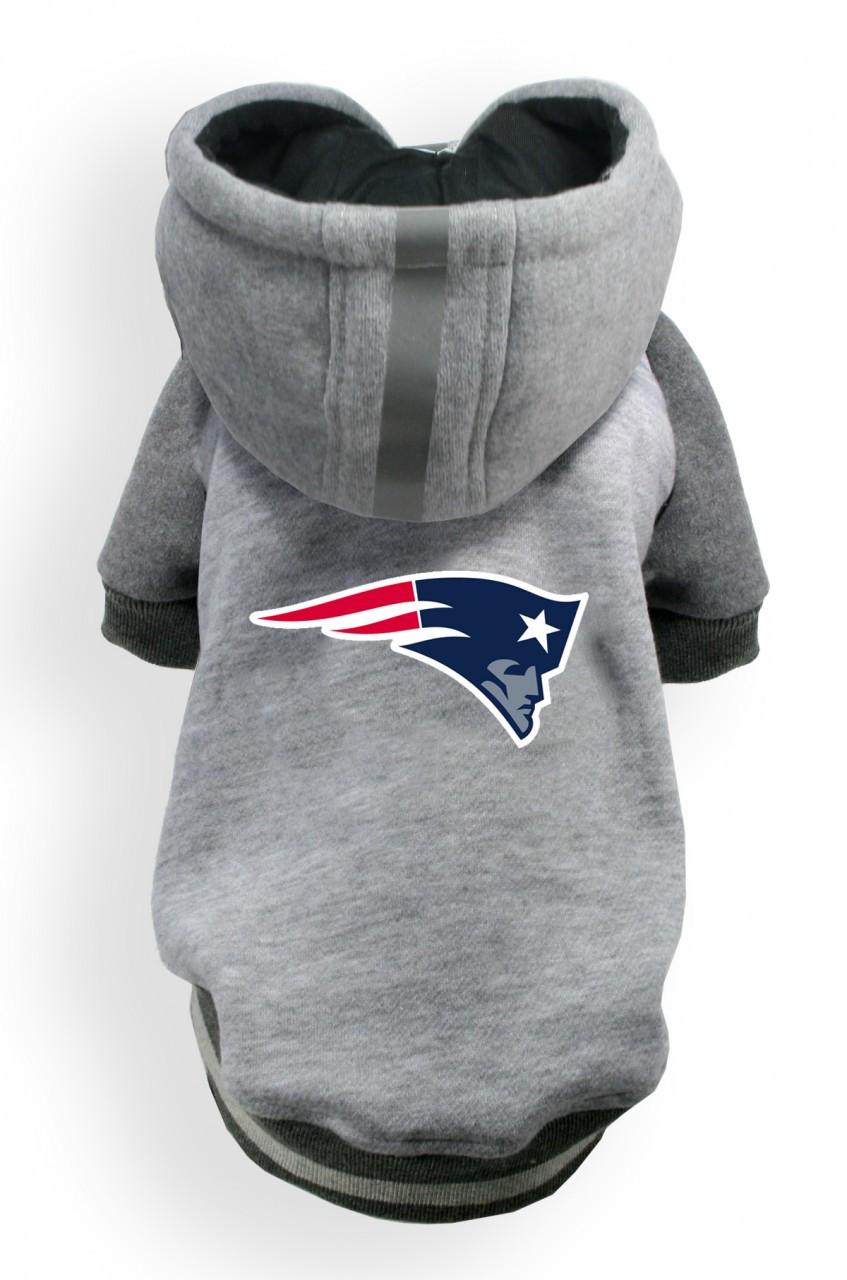 40582bff New England Patriots Dog Hoodie