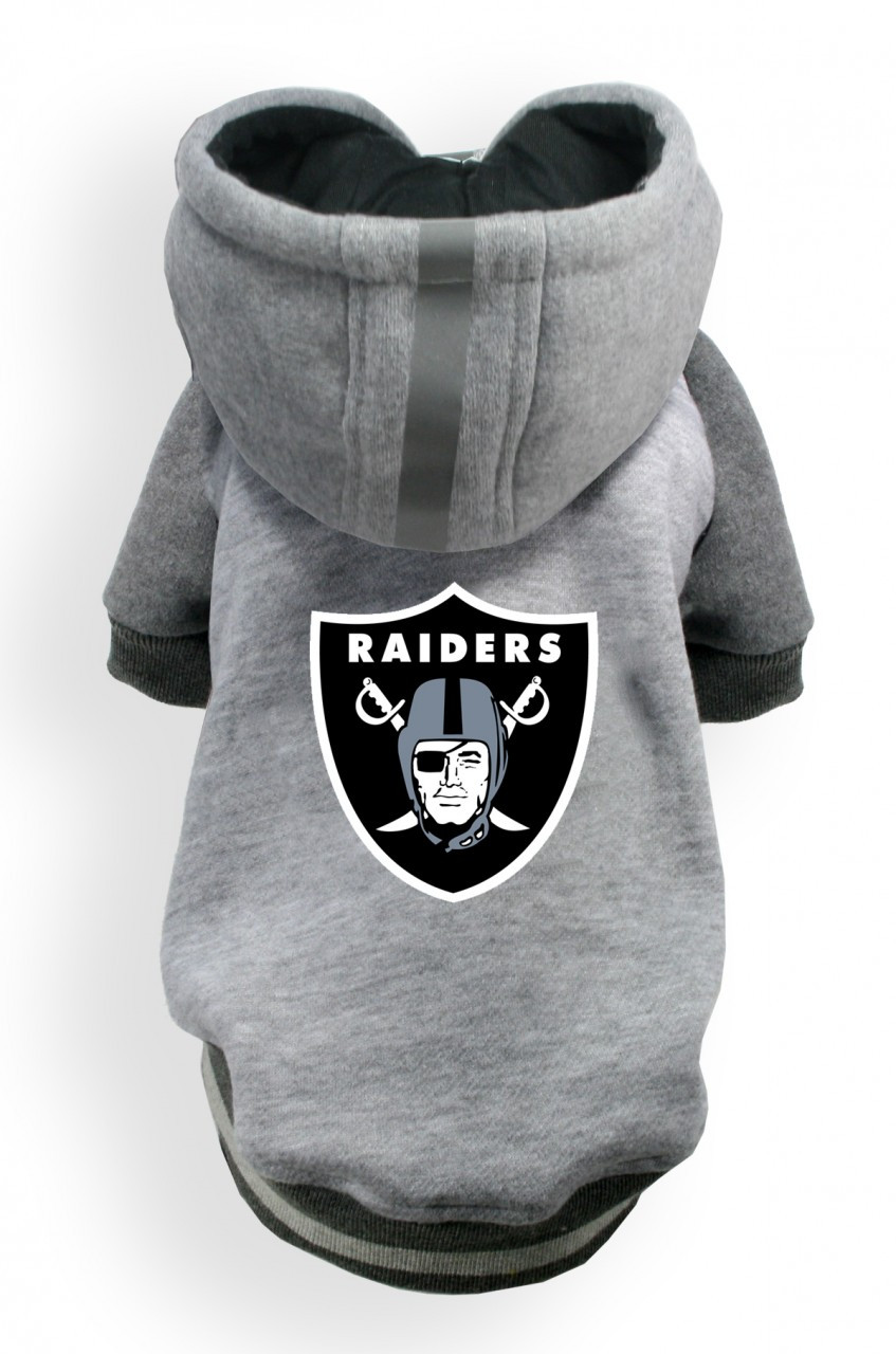 sale retailer cfe05 bfb4a Oakland Raiders Dog Hoodie