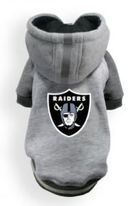 Oakland Raiders Dog Hoodie