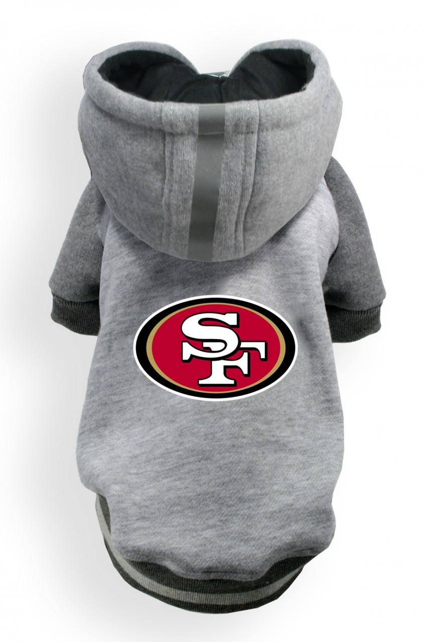d17ce6873 San Francisco 49ers Dog Hoodie