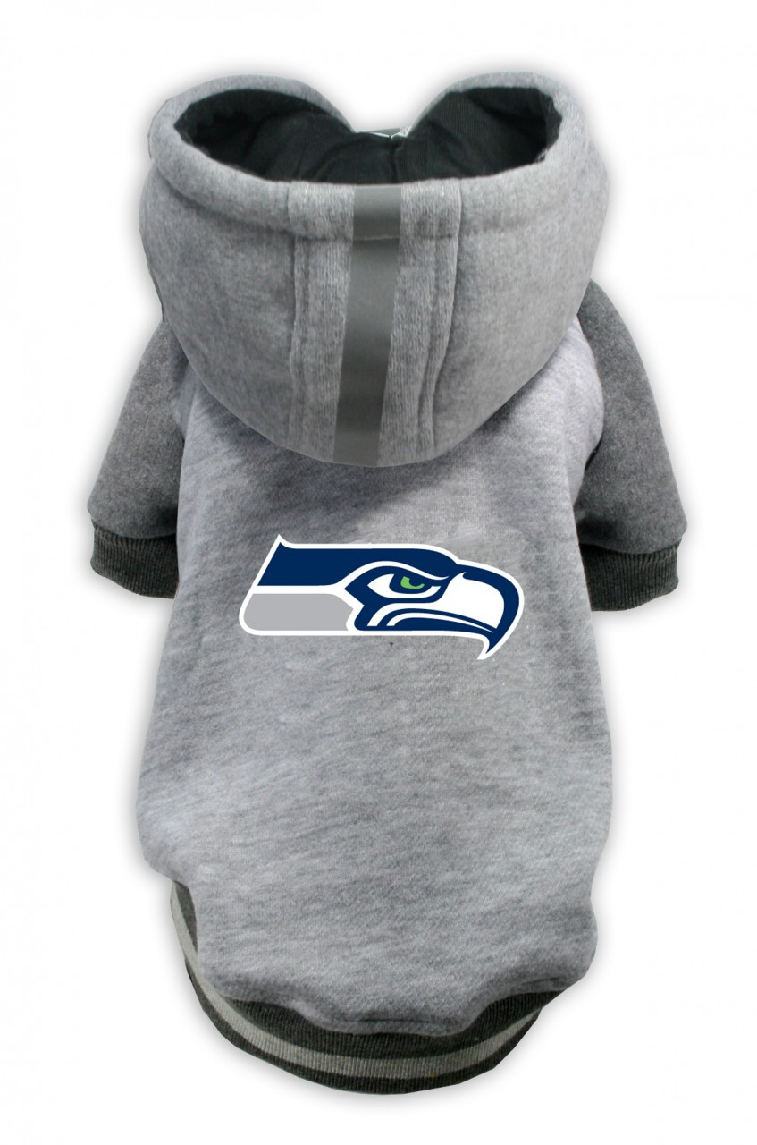 pretty nice 1e031 f7162 Seattle Seahawks Dog Hoodie