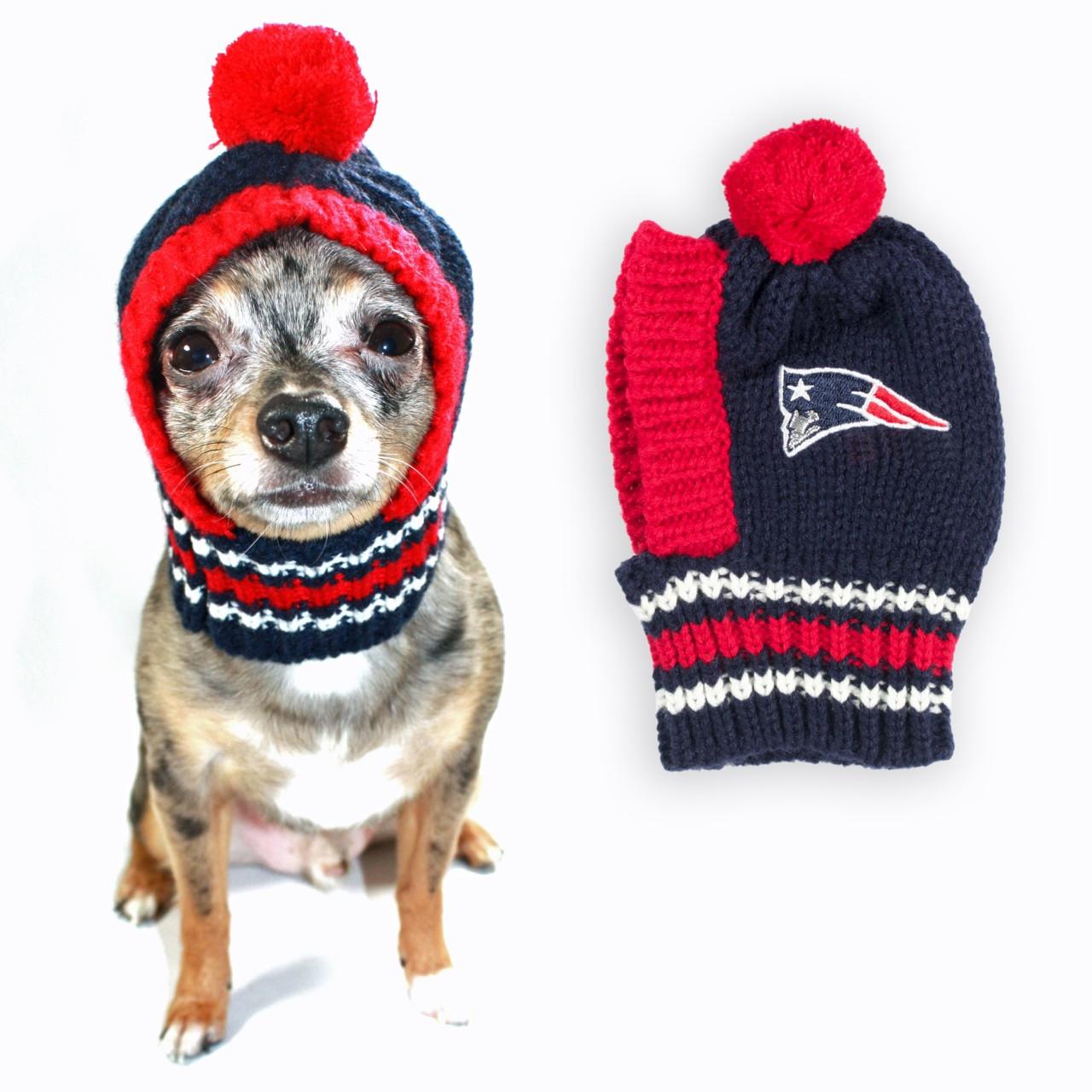 8e406244180 NFL Knit Dog Hats