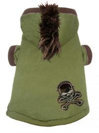 Camo Skull Mohawk Hoodie